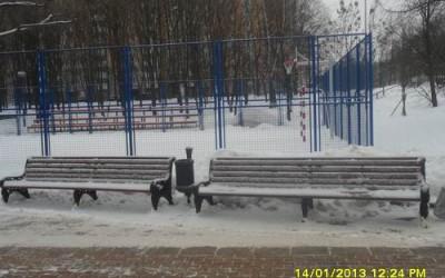 Парк 60-летия Победы. Солнцево