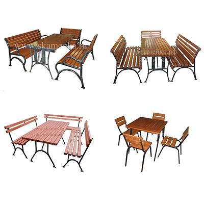 Комплекты уличной мебели